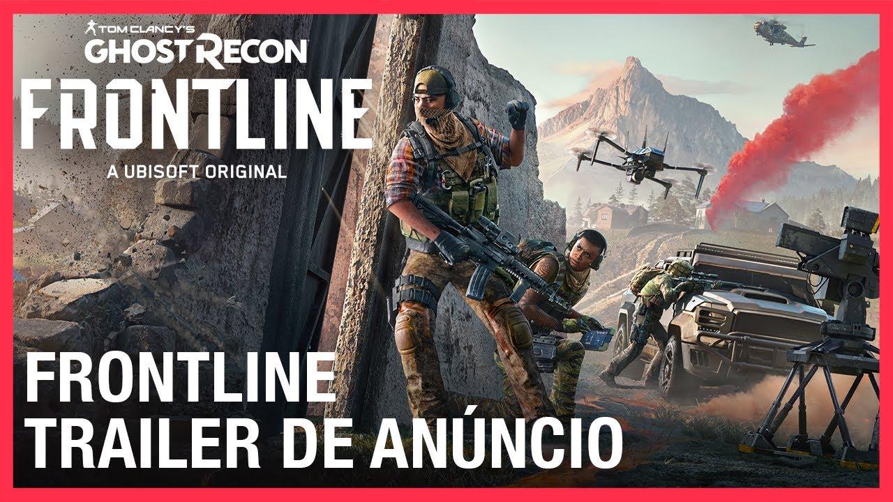 Ghost Recon Frontline: Trailer de Anúncio | Ubisoft Brasil