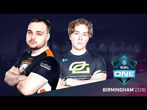 Dota 2 - VP vs. OpTic  - Group Winners Decider - ESL One Birmingham 2018