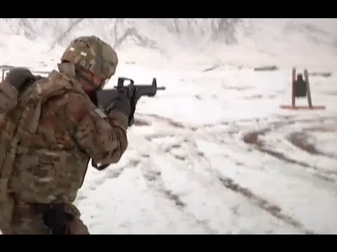 Marines Learn Advanced Shooting Techniques in Afghanistan