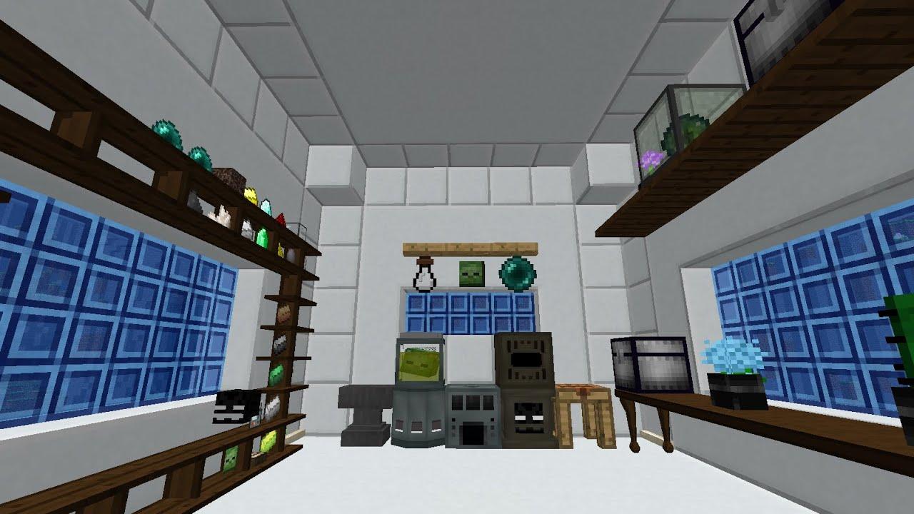 DragonTank Plays Modded Minecraft Episode 13 Interior Design