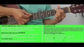 [CLB Học Guitar Miễn Phí]❤GUITAR-Bài 6: Điệu Ballad - rãi & quạt ứng dụng❤