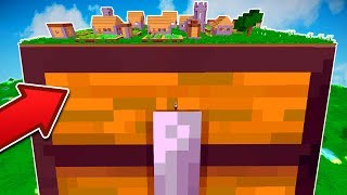 WORLD'S BIGGEST MINECRAFT CHEST | Minecraft Mods (WORLD RECORD)