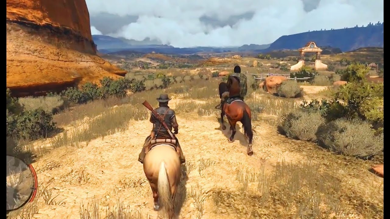 Download Red Dead Redemption - Marston tells about his past in Dutch's gang