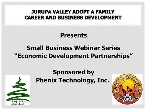 Economic Development Partnerships   How Your Local Economic Development Partners Ca
