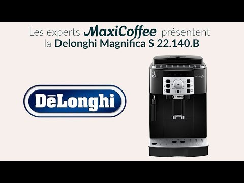 delonghi magnifica s ecam coffee maker unboxing. Black Bedroom Furniture Sets. Home Design Ideas