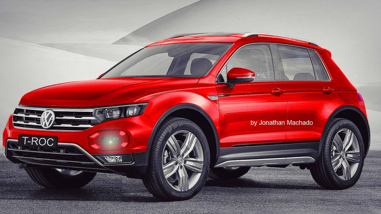 render volkswagen t roc 2019 novo fox golf suv rival do honda hr v vw youtube. Black Bedroom Furniture Sets. Home Design Ideas