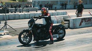 Tuning et course de moto Harley-Davidson | Action moteur sport MOTO