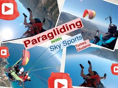 Paragliding with Sky Sports | Turkey, Oludeniz.