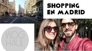 Vlog + Haul: shopping en Madrid Thumbnail