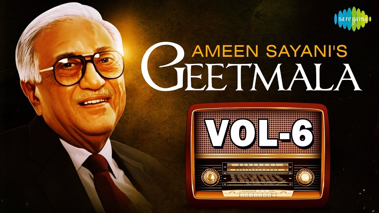 Download 100 songs with commentary from Ameen Sayani's Geetmala   Vol-6   One Stop Jukebox