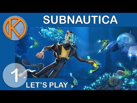 Subnautica Full Release | BEAUTIFUL OCEAN - Ep. 1 | Let's Play Subnautica Full Release Gameplay