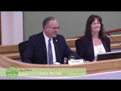 Albany City Council - Feb. 21, 2017