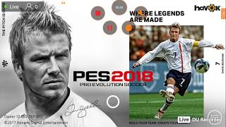 PES 2018 Mobile Android (3hr) Live stream- Add me to play a friend match with me ID 885559012