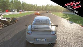 Assetto Corsa | RUF RT12 R Gameplay [PS4] - Brands Hatch GP