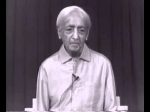 Krishnamurti - Isolation, Intelligence, Meditation (Talk 4/4)