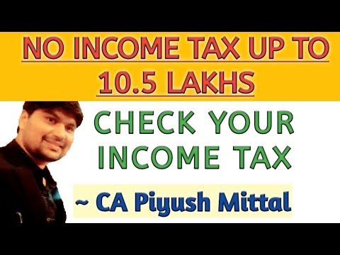 Income Tax Calculator (2019-20) In Excel For Salaried & Business As Per New Budget-(Download Excel)