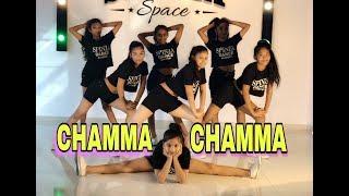Chamma Chamma - Fraud Saiyaan | Neha Kakkar | Ikka | Dance choreography | SPINZA DANCE ACADEMY