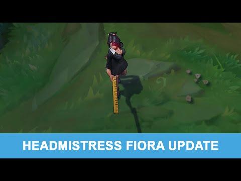 LOL PBE 7/21/2015: Headmistress Fiora Update Preview