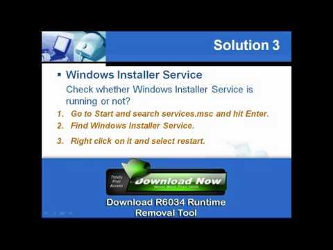 Fix itunes runtime error r6034 windows 7