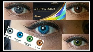 ~Air Optix~ All Vibrant Colors on Dark Brown Eyes(, 2016-05-21T21:57:37.000Z)