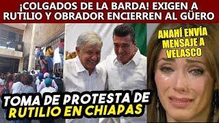 Chiapas tiene futuro con Obrador con Rutilio, pero el pasado de Velasco los persigue