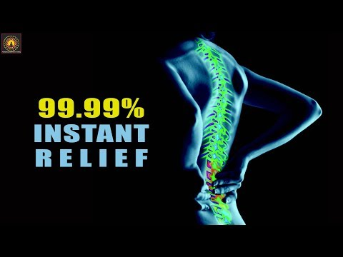 EXTREMELY POWERFUL ! Lower Back Pain Relief Binaural Beats - Lower Back Pain Relief #030