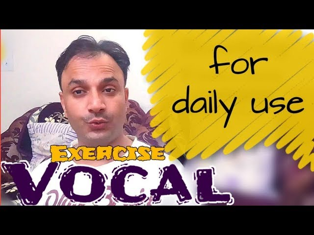 आवाज की खुराक | Exercise For Voice Training | Vocal Cord | Voice | Vocalist | Deep Voice