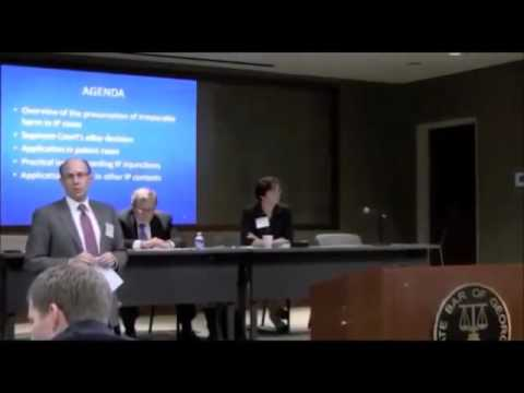 Patent Infringement Panel Discussion, David Lilenfeld