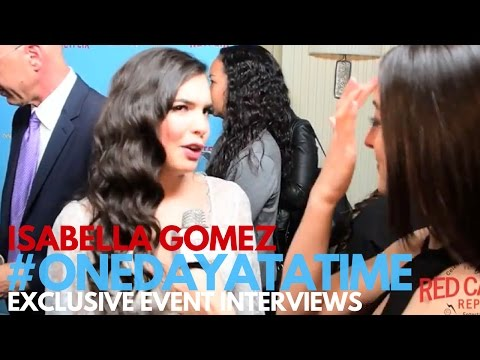 Isabella Gomez interviewed at the premiere of One Day at a Time on Netflix #OneDayAtATime #Netflix