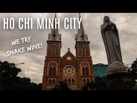 Ho Chi Minh - SNAKE WINE!