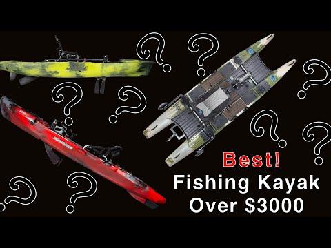 Best Fishing Kayaks $3000+ (2019)- Hobie  Jackson Kayak  Bluesky Boatworks