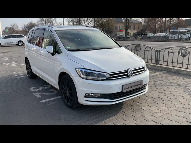 Side Assist/ RTA, Dynaudio Excite, Keyless Access в задние двери. VW Touran 2.0TDI 2016.