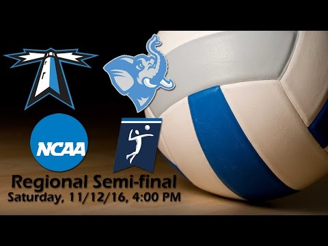 2016 NCAA Division III Women's Volleyball Regional Semi-final - UMass Boston Beacons vs Tufts Jumbos