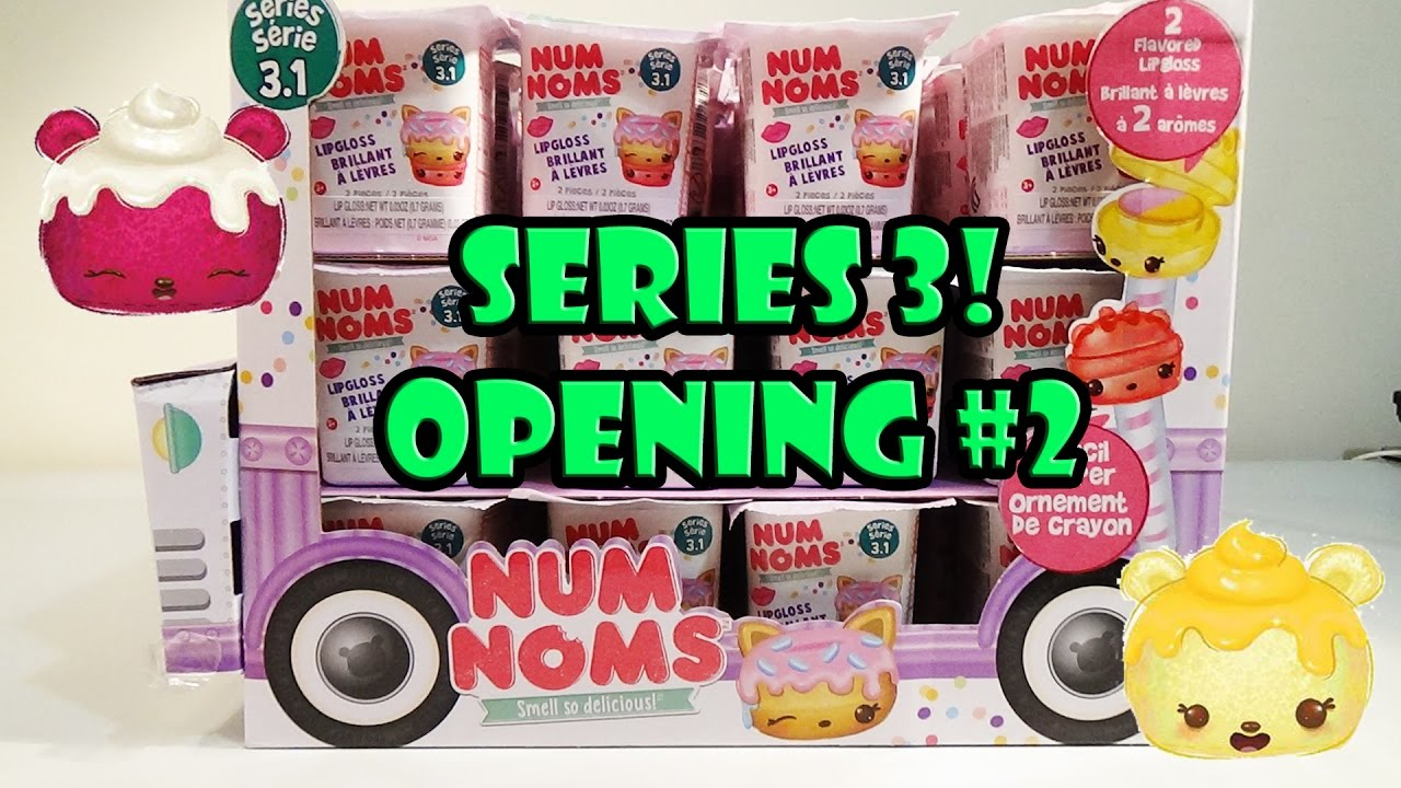 Num Noms Series 3 Blind Pack Opening 2 New 3 1