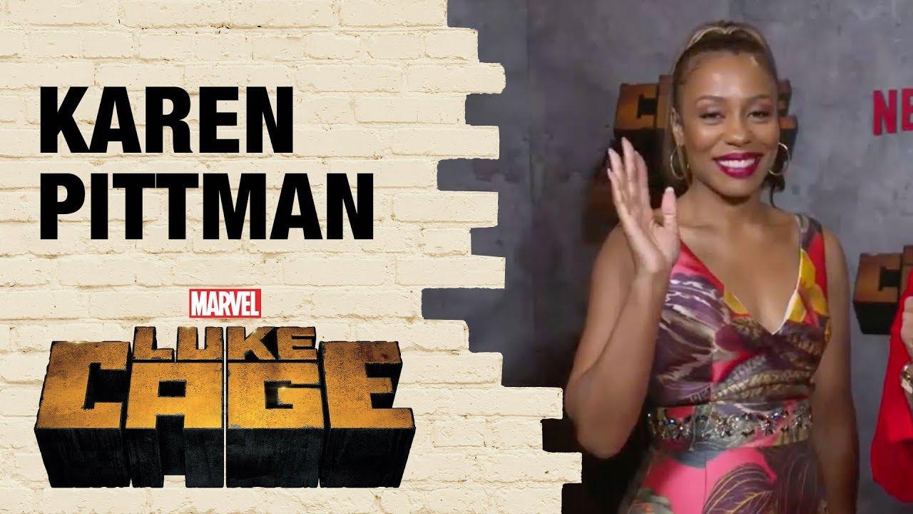 Karen Pittman on how Priscilla Ridleysupports Misty Knight in Marvel's Luke Cage Season 2