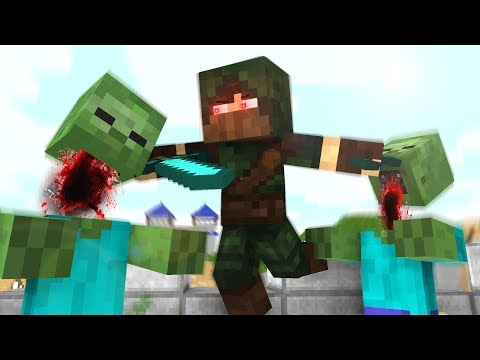 Pro Life / Zombie Life / Enderman Life - Craftronix Minecraft Animation