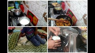 School lunch boxes routine/Indian mom preparing lunch boxes/Indian mom busy lifestyle