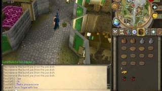 Runescape: Cooking Tip/Money-Making Guide Redberry and Meat Pie