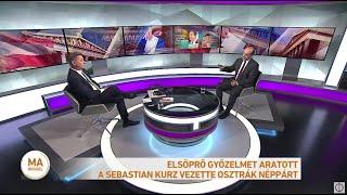 Elsöprő győzelmet aratott a Sebastian Kurz vezette Osztrák Néppárt