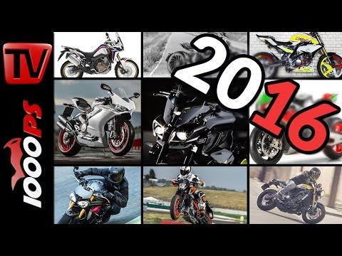 Motorrad Highlights 2016 - Neue Modelle im Überblick  (English Subtitles)