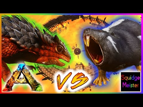 Ark: Scorched Earth || BEAVER vs THORNY DRAGON || EPIC ARENA BATTLE