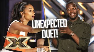 Alesha Dixon VIBES with Reuel and this R&B classic! | The X Factor UK