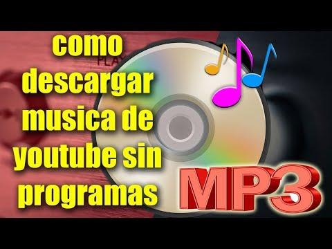 "Cómo Descargar Música de YouTube ""Gratis"" Sin Programas 2019!"