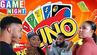 HILARIOUS UNO GAME NIGHT ( CHEATERS NEVER WIN )
