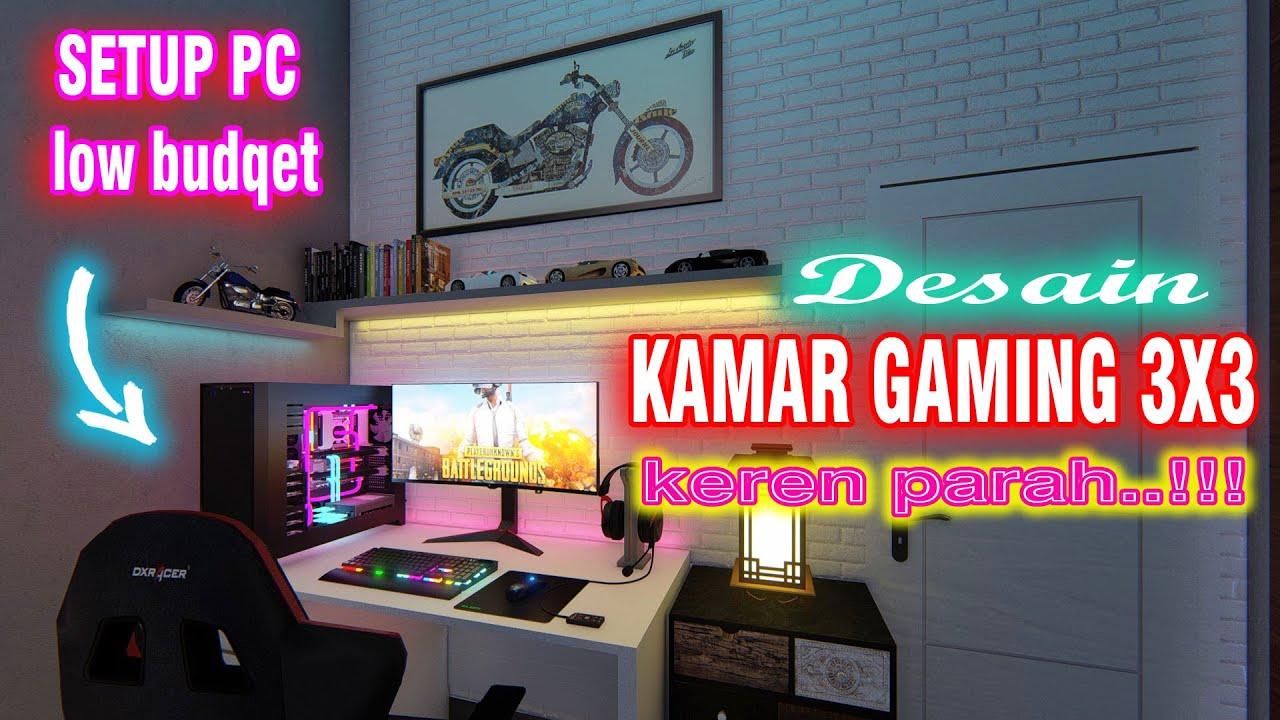 Desain Kamar GAMING 4X4 Keren PARAH..!!!