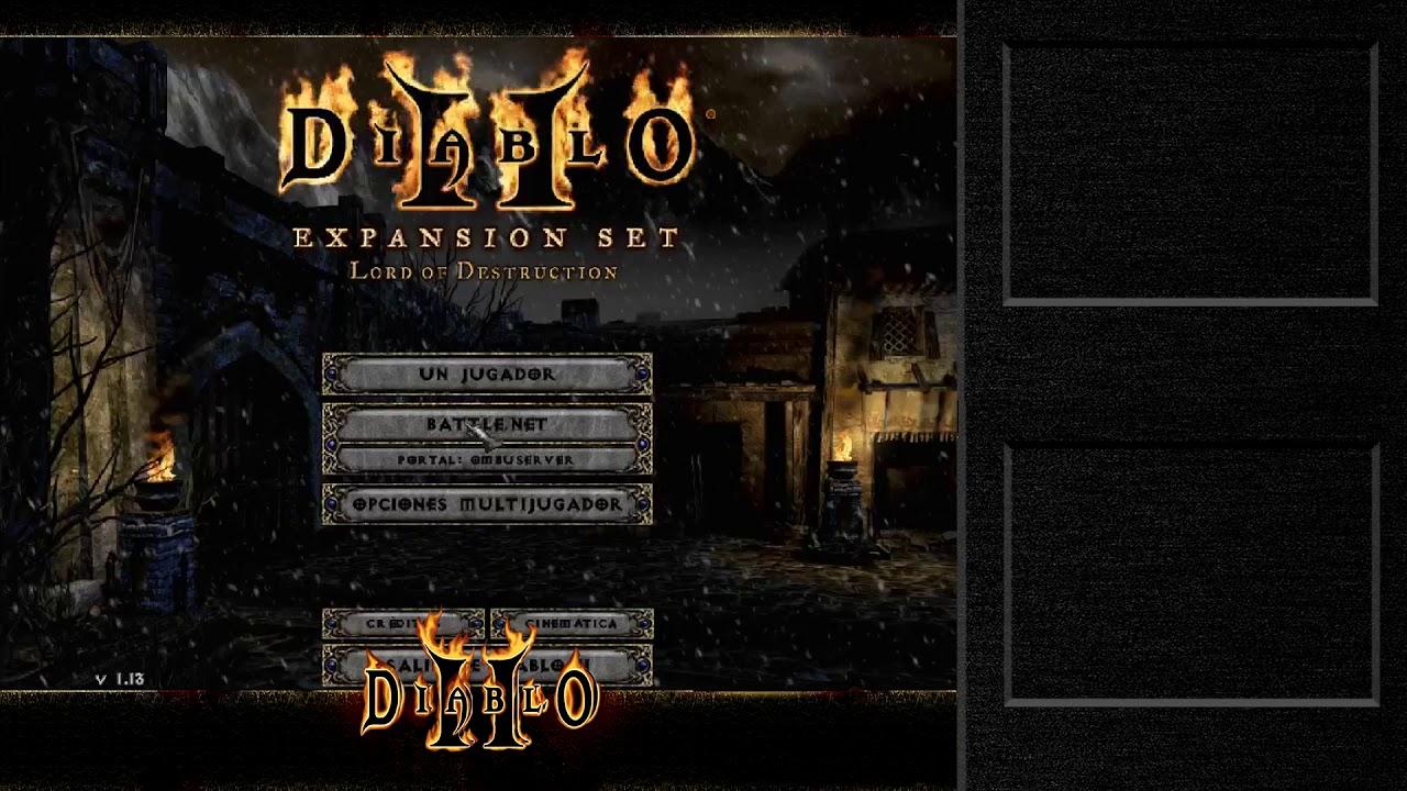 Como jugar en multijugador al diablo II - YouTube
