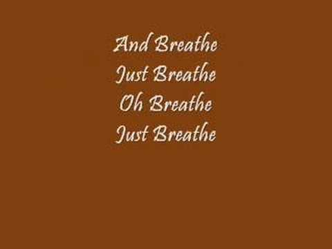 """Breathe (2 AM)"" By: Anna Nalick WITH LYRICS"