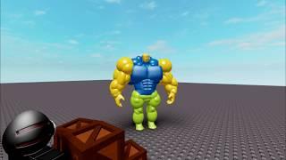 Proprietà ROBLOX . Buff Noob vs Egg9000