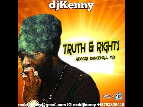 DJ KENNY TRUTH & RIGHTS REGGAE DANCEHALL MIX OCT 2017