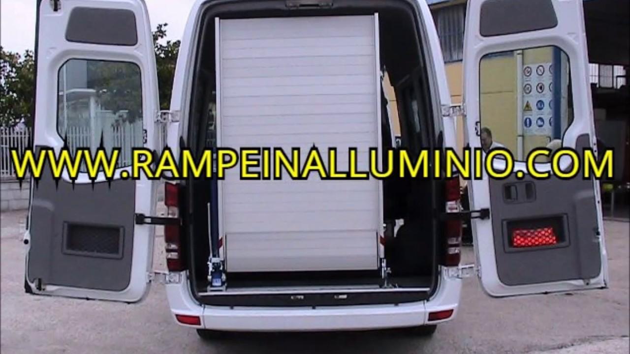 rampe e pedane in alluminio per furgoni e veicoli